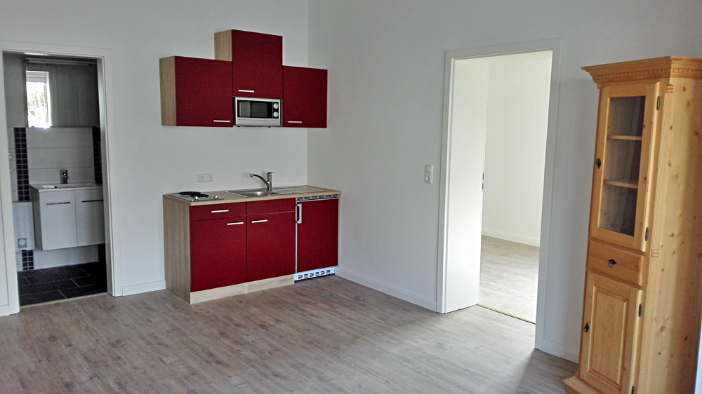 √ studio appartement mit eigenem bad, komplett möbliert, in 25746 ...